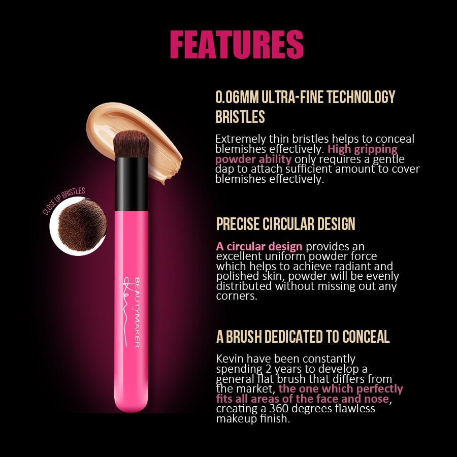 Photoshop Perfecting Concealer Brush - Product Features