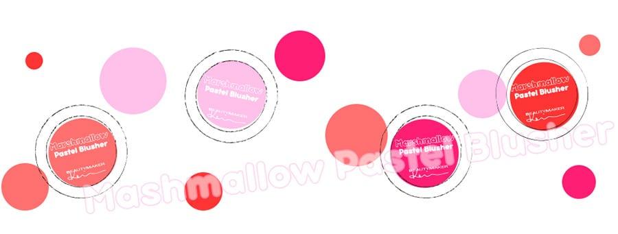 Marshmallow Pastel Blusher - Product Graphic