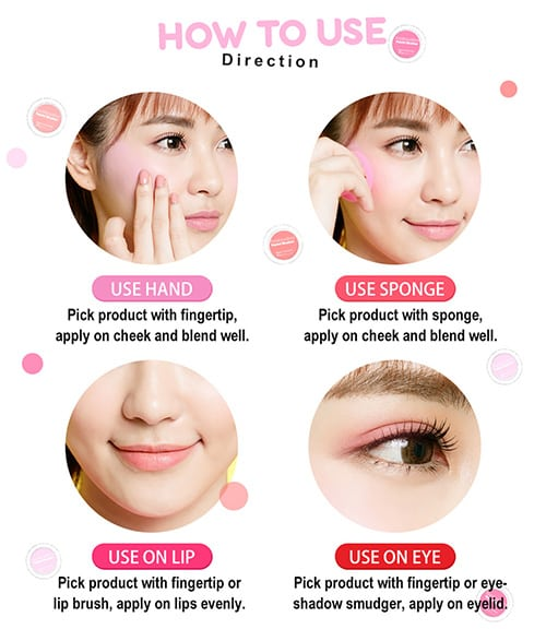 Marshmallow Pastel Blusher - How to use