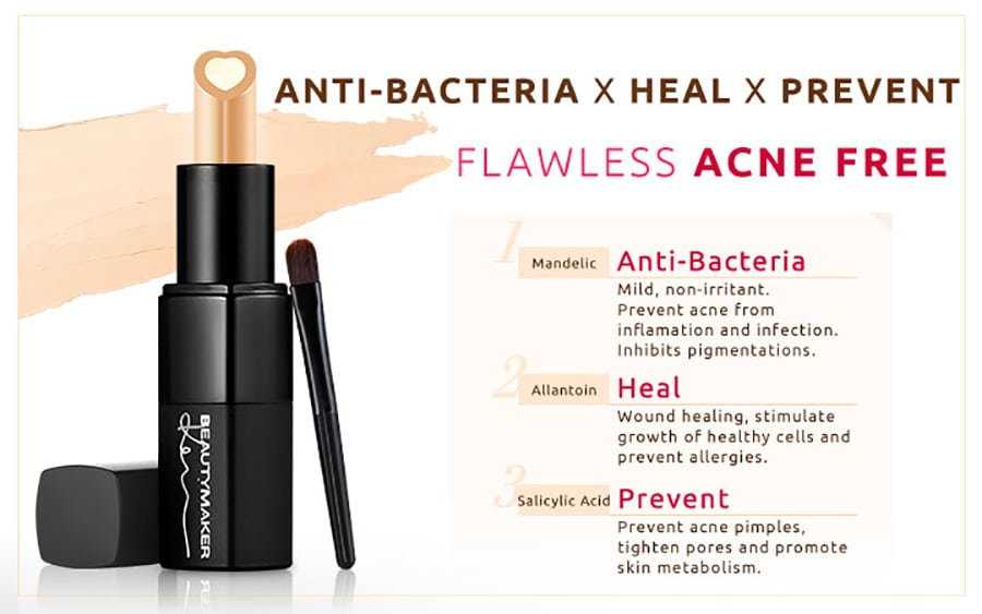 Acne Solutions Clearing Concealer - Product Benefits