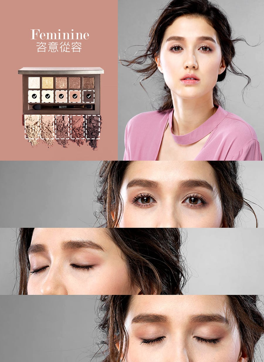 Duo Texture Eyeshadow Palette - Product Color 03