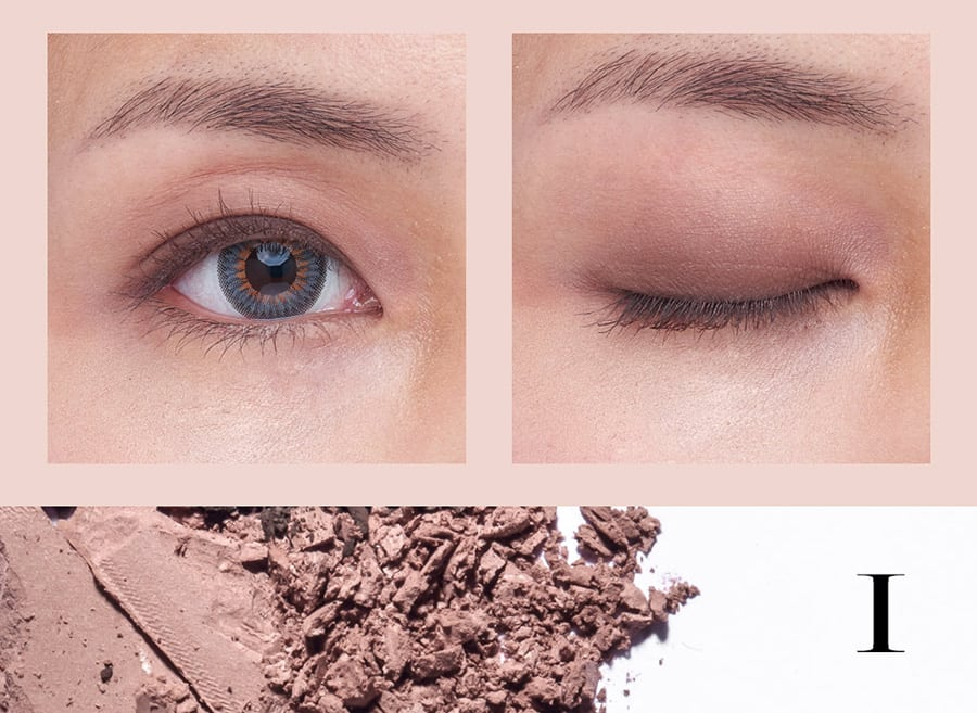 Duo Texture Eyeshadow Palette - Product Color I