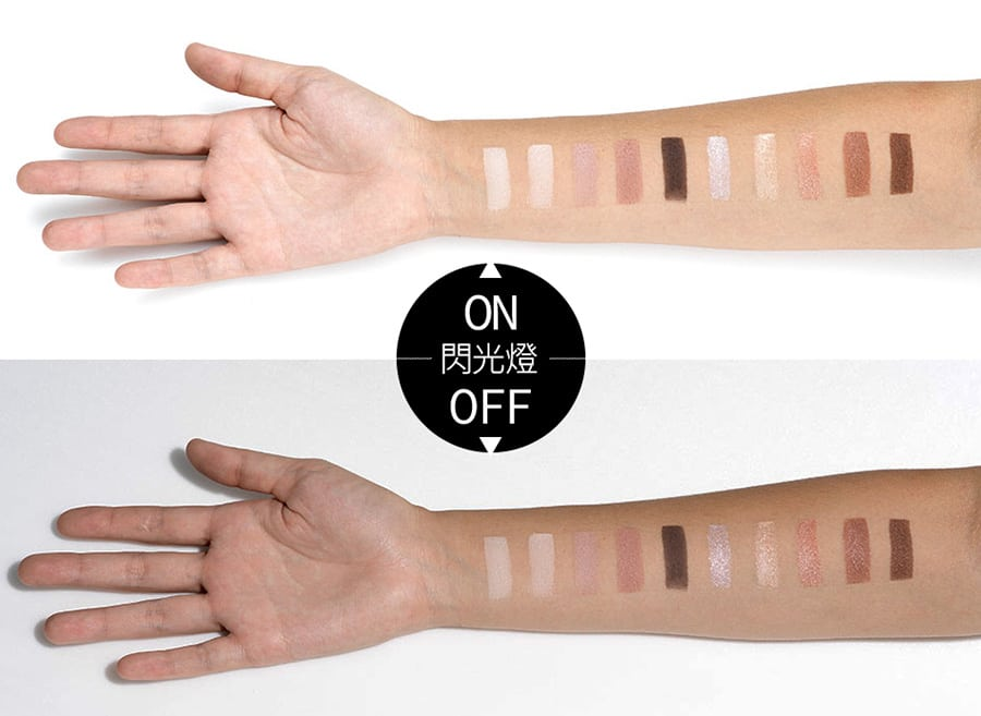Duo Texture Eyeshadow Palette - Product Color Swatch 02