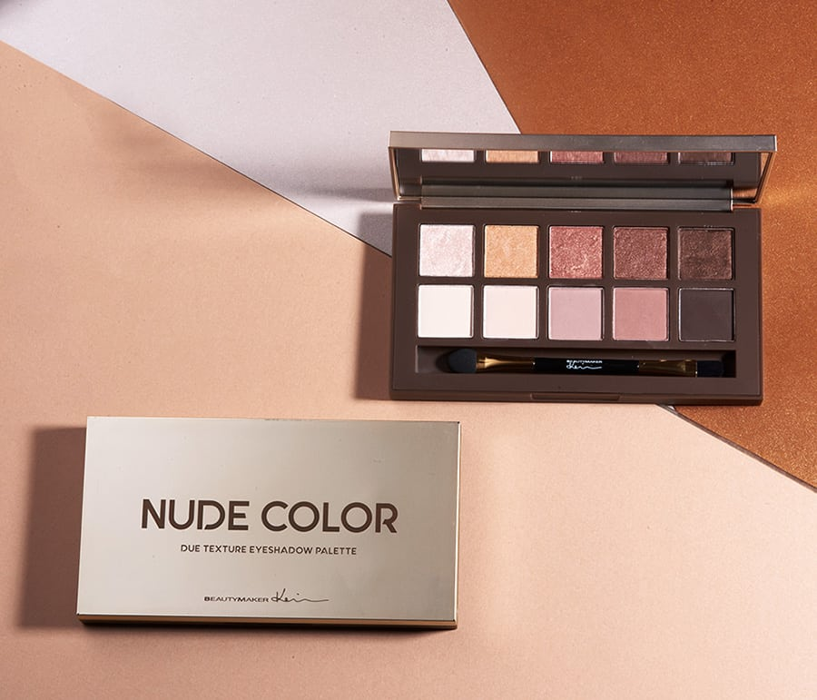 Duo Texture Eyeshadow Palette - Product Packaging 03