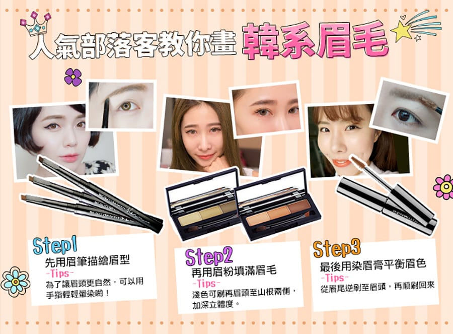 Beautymaker Eyebrow Palette - Product Usage