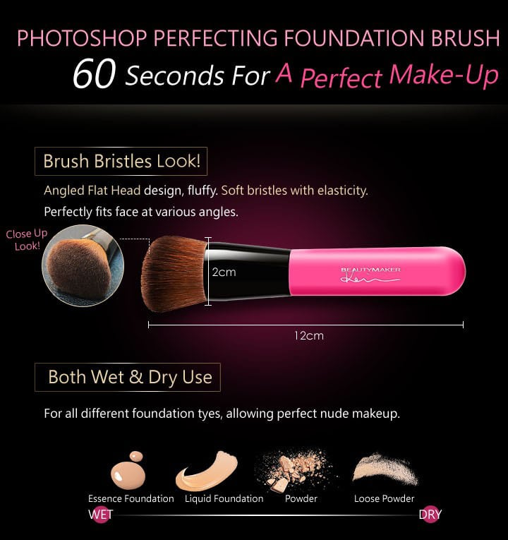 Photoshop Perfecting Foundation Brush - Product Features 01