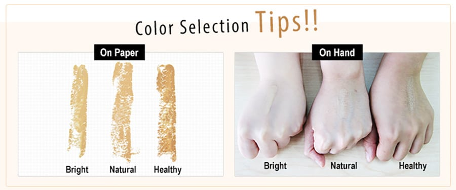 Beautymaker Impeccable Triple Concealer - Product Colors 01