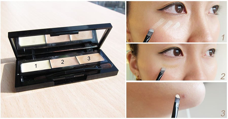 Beautymaker Impeccable Triple Concealer - How to use 01