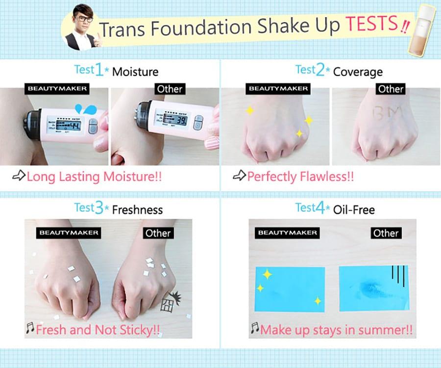 Trans Foundation Shake Up - Product Test