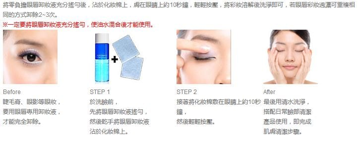 Eye Makeup Remover - How to use