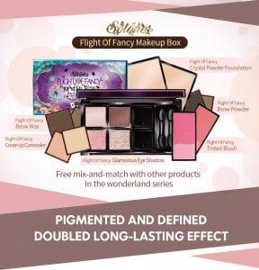 Flight Of Fancy Brow Wax Brow Powder - Makeup box introduction
