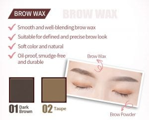 Flight Of Fancy Brow Wax Brow Powder - Product Feature 01
