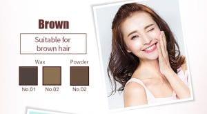 Flight Of Fancy Brow Wax Brow Powder - Colour 02