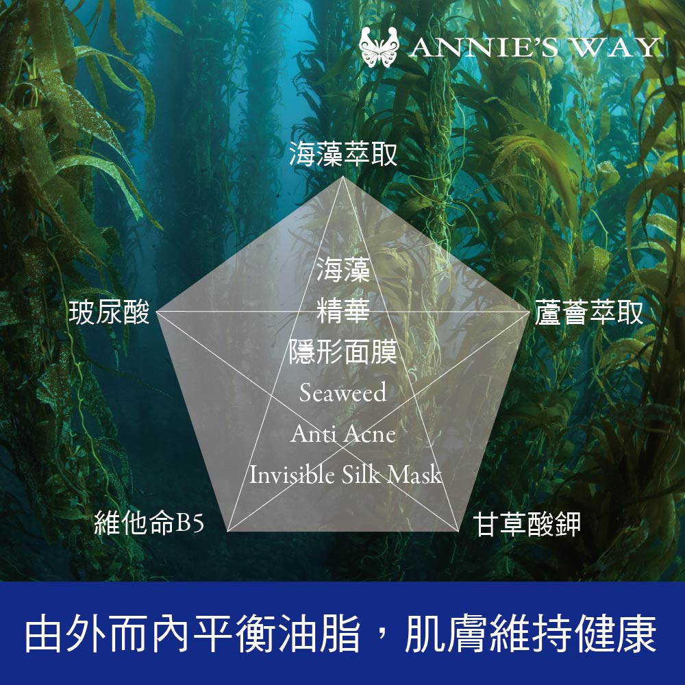Seaweed Anti-Acne Mask - Product Benefits 01