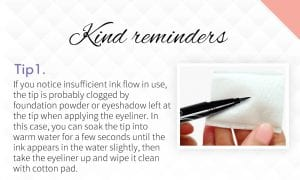 Magic Liquid Eyeliner - Tips 1