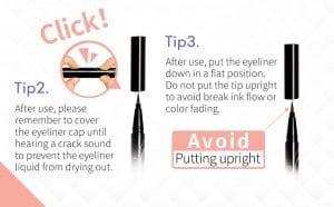 Magic Liquid Eyeliner - Tips 2