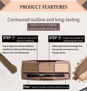 Smooth Brow Palette - Product Feature 01