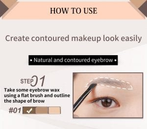 Smooth Brow Palette - How to 01