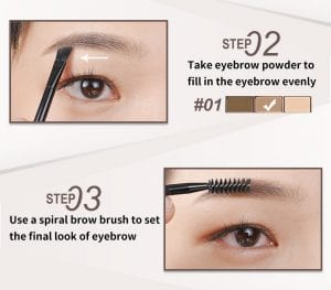 Smooth Brow Palette - How to 02