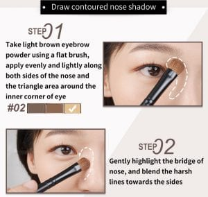 Smooth Brow Palette - How to 04