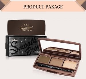 Smooth Brow Palette - Product Package