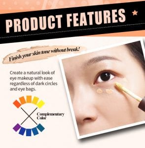 Eye Correct Concealer - Product Feature 01