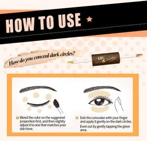 Eye Correct Concealer - How to