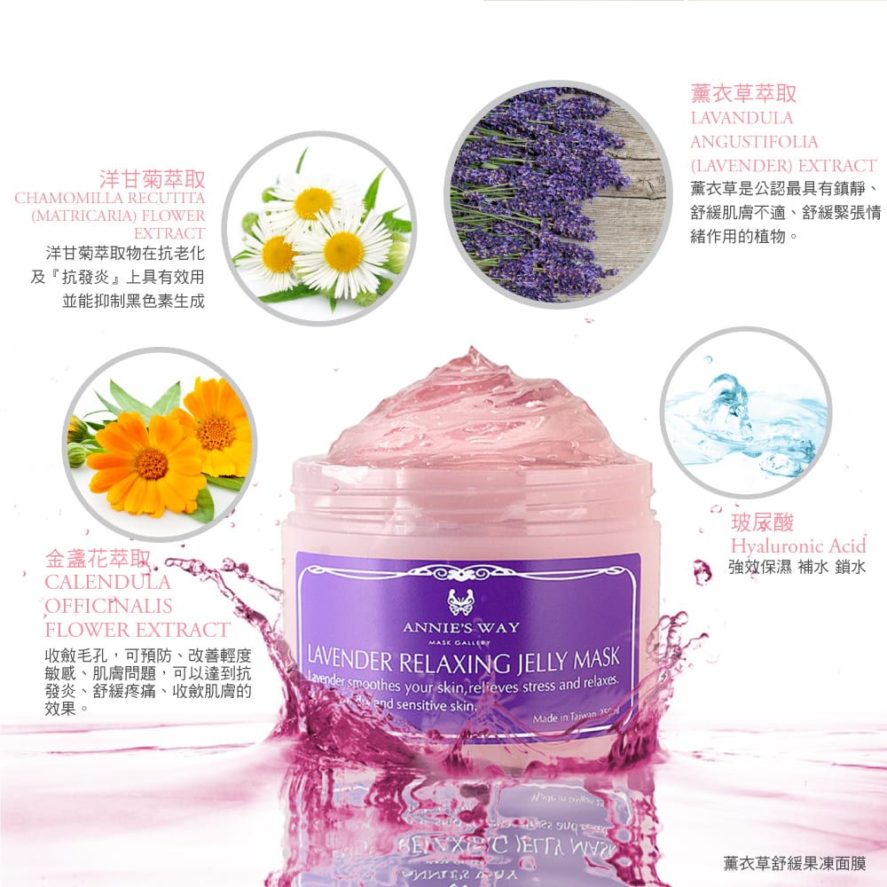 Lavender Relaxing Jelly Mask - Product Details