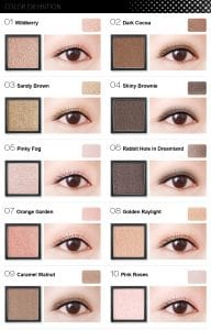 Flight of Fancy Glamorous Eyeshadow - Colours 1