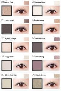 Flight of Fancy Glamorous Eyeshadow - Colours 3