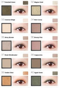 Flight of Fancy Glamorous Eyeshadow - Colours 4