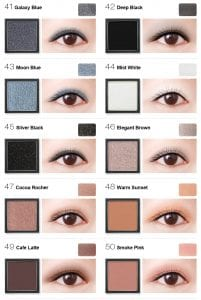 Flight of Fancy Glamorous Eyeshadow - Colours 5