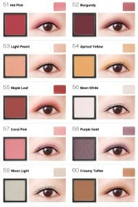 Flight of Fancy Glamorous Eyeshadow - Colours 6