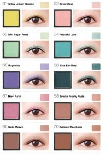 Flight of Fancy Glamorous Eyeshadow - Colours 7