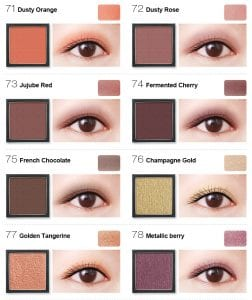 Flight of Fancy Glamorous Eyeshadow - Colours 8