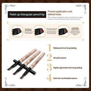 Charming Arc Triangular Brow Liner - Product Feature 01