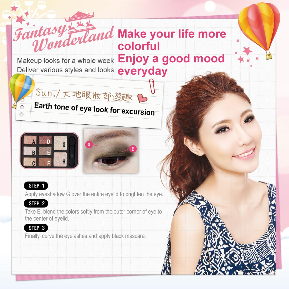 Fantasy Wonderland Eyeshadow Kit - Looks