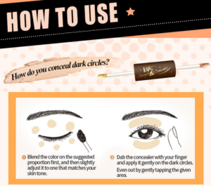 Eye Correct Concealer - How to use