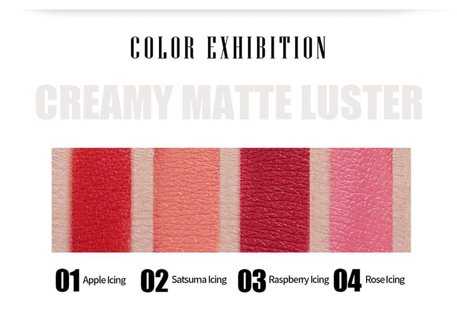 Creamy Matte Lipstick - Colour