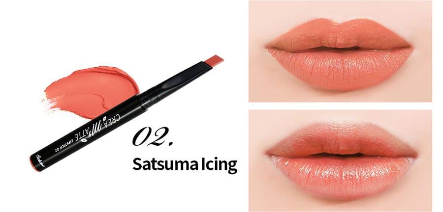 Creamy Matte Lipstick - Colour 02