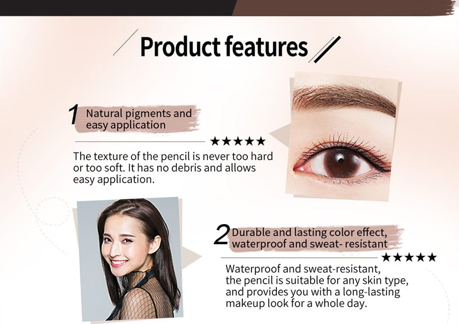 Long-Lasting Perfect Brow Pencil - Product Feature 02