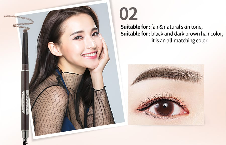 Long-Lasting Perfect Brow Pencil - Colour 02