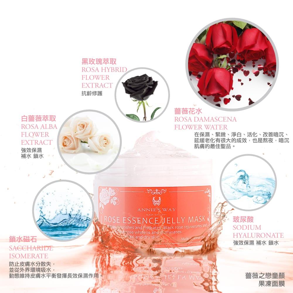 Rose Essence Jelly Mask - Product Description
