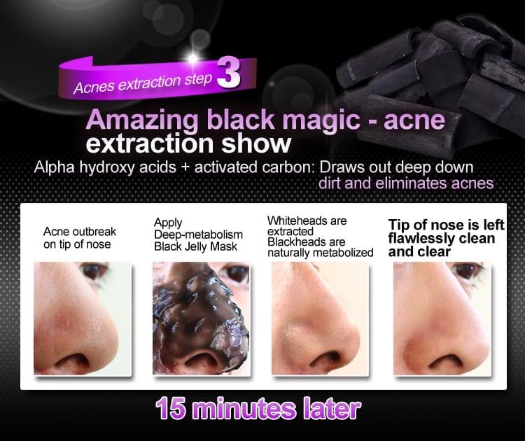 Black Jelly Mask - Result 3
