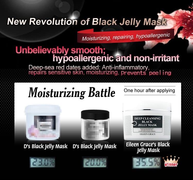Black Jelly Mask - Moisturizing battle