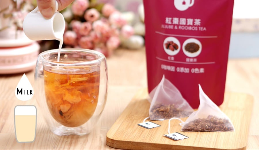 Jujube Rooibos Tea Packet - Info 7
