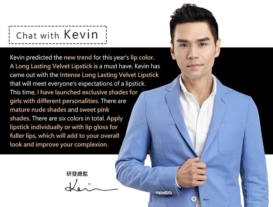 Long-Wear Velvet Lipstick - Product Story