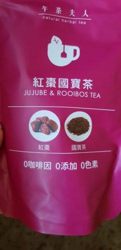 Ladies Tea Jujube Rooibos Tea Packet photo review