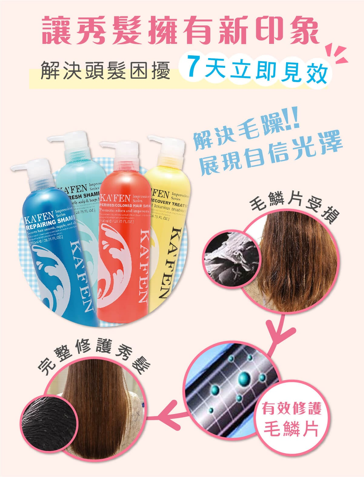 Impression Series Refresh Shampoo - Feature 2