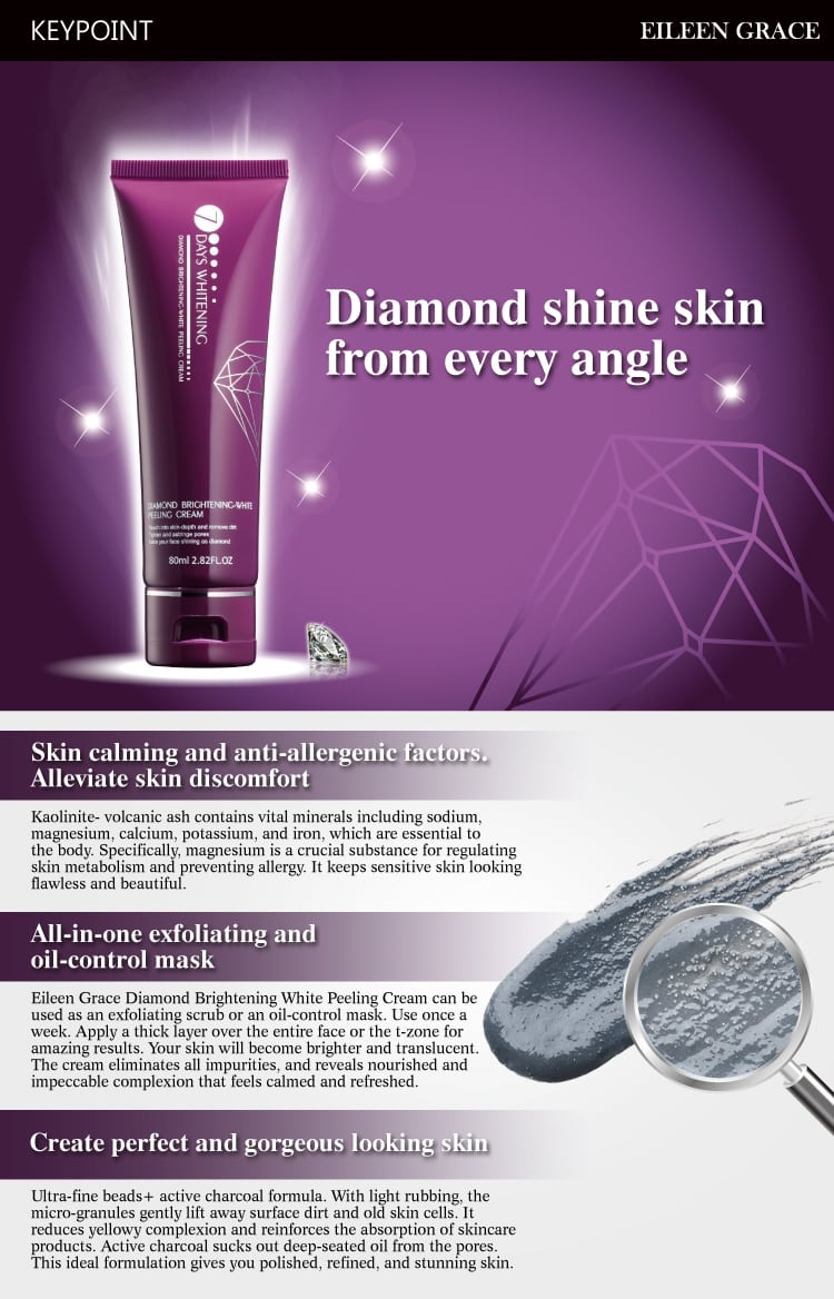 Brightening-White Peeling Cream - Product Benefits